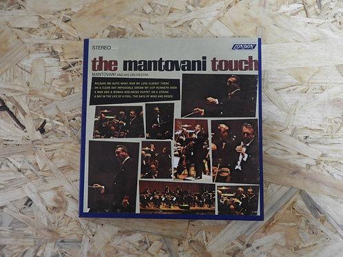 <再生確認済み>「 THE MANTOVANI TOUCH 」 マントヴァーニ オープンリール 7号 ミュージック テープ