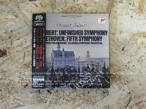 シューベルト : 交響曲第8番 未完成 , 第5番 運命 / ブルーノ・ワルター