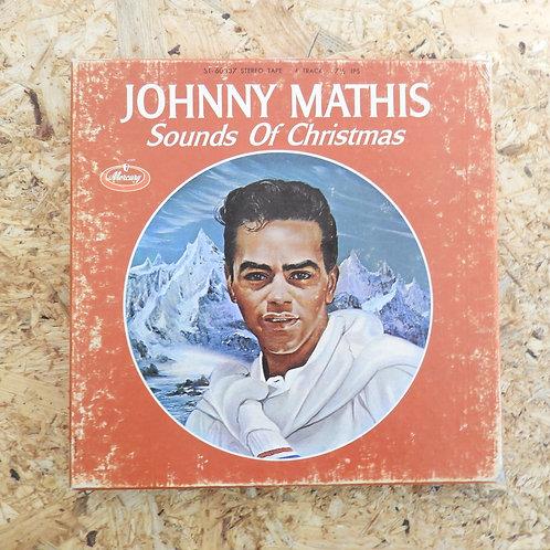 <再生確認済み>「 JOHNNY MATHIS / Sounds Of Christmas 」 オープンリール 7号 ミュージック テープ