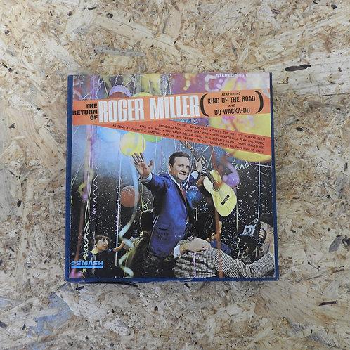 <再生確認済み>「 RETURN OF ROGER MILLER 」 オープンリール 7号 ミュージック テープ