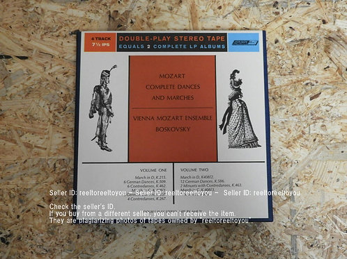 MOZART : COMPLETE DANCES AND MARCHES VOL.1 & 2 /WILL BOSKOVSKY
