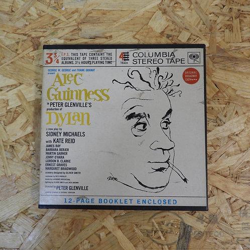<再生確認済み>「 ALEC GUINNESS IN DYLAN ORIGINAL BROADWAY CAST 」 オープンリール 7号 ミュージック テープ
