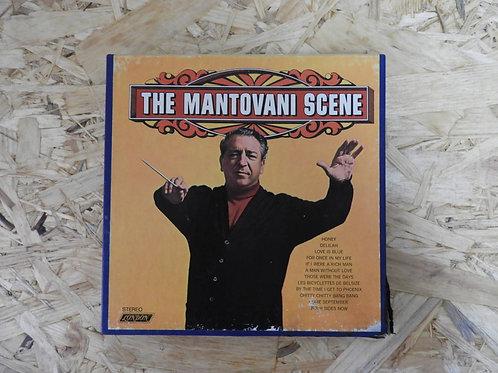 <再生確認済み・訳あり品>「 THE MANTOVANI SCENE 」 マントヴァーニ オープンリール 7号 ミュージック テープ