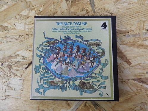 <再生確認済み>「 THE BLUE DANUBE : THE GREAT STRAUSS WALTZES 」 オープンリール 7号 ミュージック テープ