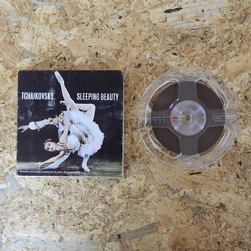 <再生確認済み>「 SLEEPING BEAUTY / THAIKOVSKY 」 オープンリール 5号 ミュージック テープ MONO