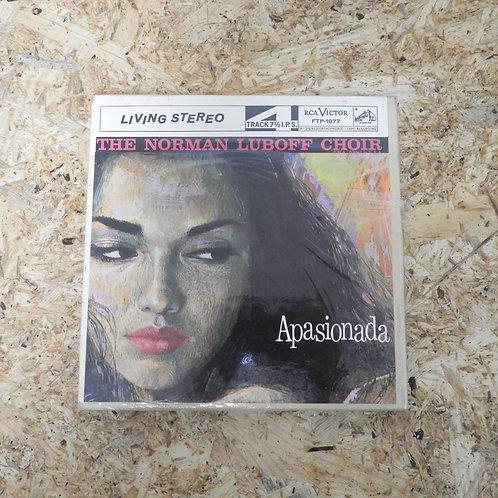 <未開封!>「 APASIONADA / THE NORMAN LUBOFF CHOIR 」 オープンリール 7号 ミュージック テープ