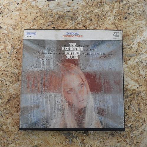 <再生確認済み>「 THE BEGINNING BRITISH BLUES / V.A. 」 オープンリール 7号 ミュージック テープ