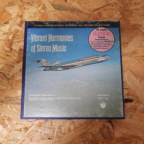 <再生確認済み>「 AMERICAN AIRLINES ASTROSTEREO CLASSICAL PROGRAM NO.CW-228 」 V.A. オープンリ