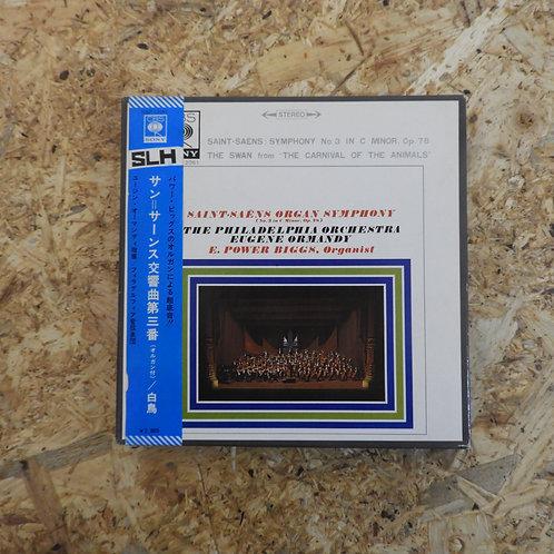 <再生確認済み>「 サン=サーンス交響曲第三番 : 白鳥 」 オープンリール 7号 ミュージック テープ
