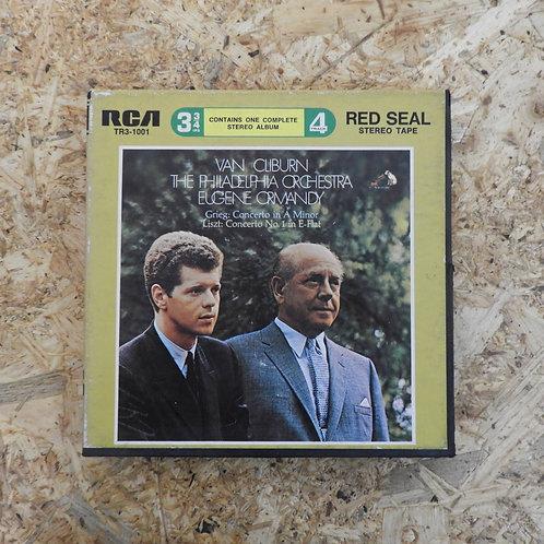 <再生確認済み>「 CLIBURN ・ ORMANDY / THE PHILADELPHIA ORCHESTRA 」 オープンリール 7号 ミュージック テープ