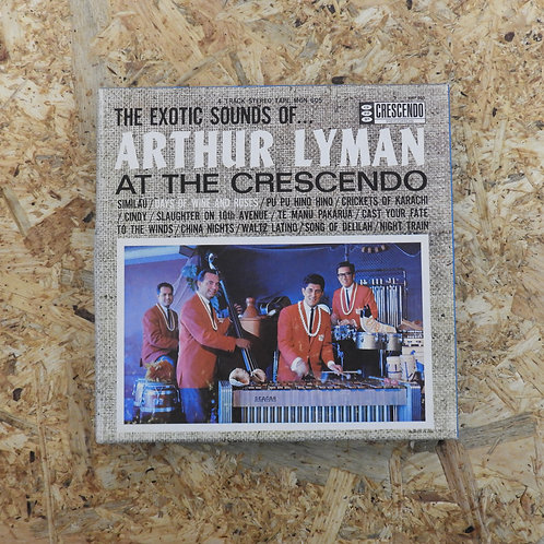<再生確認済み>「 THE EXOTIC SOUNDS OF ... ARTHUR LYMAN AT THE CRESCENDO 」 オープンリール 7号 ミュ