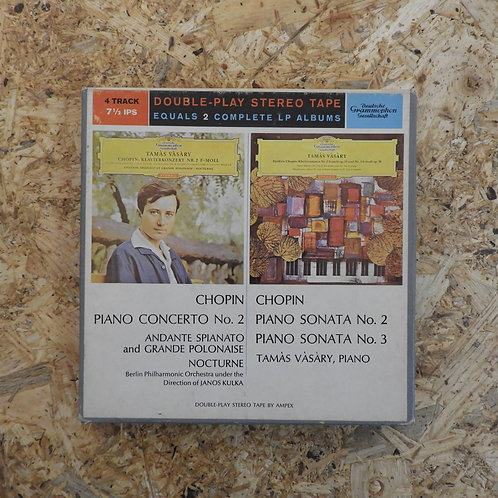 <再生確認済み>「 CHOPIN : PIANO CONCERTO No.2 / PIANO SONATA No.2 & No.3 」 ショパン オープンリール