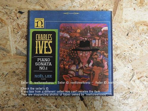 CHARLES IVES : PIANO SONATA NO.1 / NOEL LEE