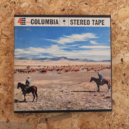<再生確認済み>「 SONGS OF THE WEST / NORMAN LUBOFF CHOIR 」 オープンリール 7号 ミュージック テープ