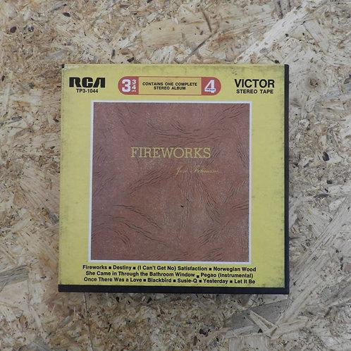 <再生確認済み>「 FIREWORKS / JOSE FELICIANO 」 オープンリール 7号 ミュージック テープ