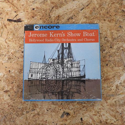 <再生確認済み>「 JEROME KERN'S SHOW BOAT」 オープンリール 7号 ミュージック テープ