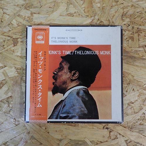 <再生確認済み>「 イッツ・モンクス・タイム / セロニアス・モンク 」 THELONIOUS MONK オープンリール 7号 ミュージック テープ