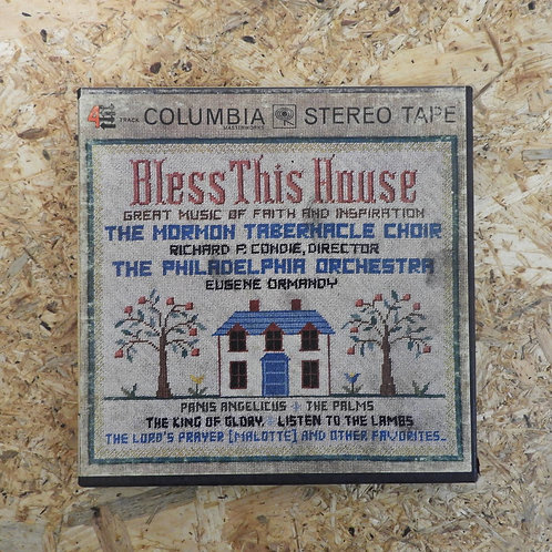 再生確認済み「BLESS THIS HOUSE-THE MORMON TABERNACLE CHOIR/THE PHILADELPHIA ORCHESTRA-E