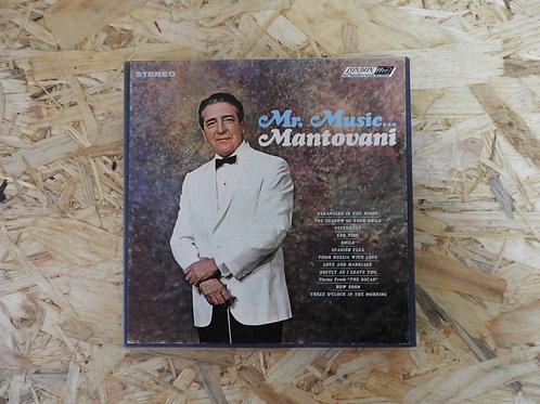 <再生確認済み>「 Mr. MUSIC... / MANTOVANI 」 マントヴァーニ オープンリール 7号 ミュージック テープ