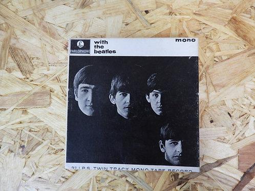 <再生確認済み>「 The BEATLES / With The BEATLES 」 ビートルズ オープンリール 5号 ミュージック テープ  MONO