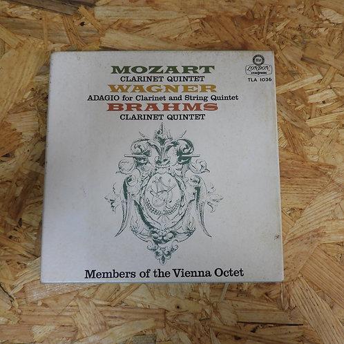 <再生確認済み>「 モーツァルト:クラリネット五重奏曲 他 / ウィーン八十奏団員 」 オープンリール 7号 ミュージック テープ