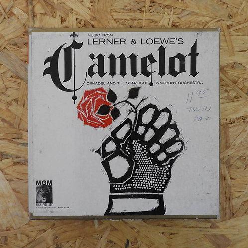 <再生確認済み>「 CAMELOT 」 オープンリール 7号 ミュージック テープ