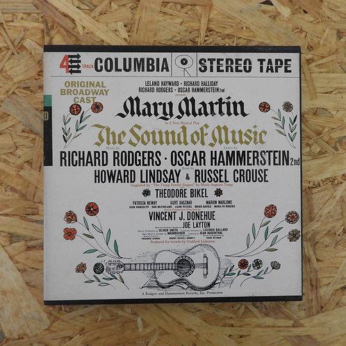 <再生確認済み>「 THE SOUND OF MUSIC / ORIGINAL BROADWAY CAST 」 オープンリール 7号 ミュージック テープ