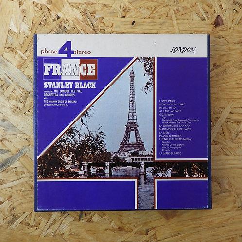 <再生確認済み>「 FRANCE / STANLEY BLACK LONDON FESTIVAL ORCH. 」 オープンリール 7号 ミュージック テープ