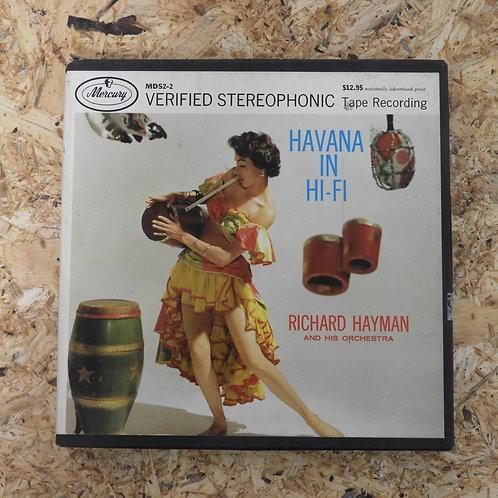 <再生確認済み>「 HAVANA IN HI-FI / RICHARD HAYMAN 」 オープンリール 7号 ミュージック テープ