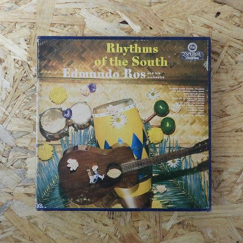 <再生確認済み>「 RHYTHMS OF THE SOUTH / EDMUNDO ROS 」 オープンリール 7号 ミュージック テープ