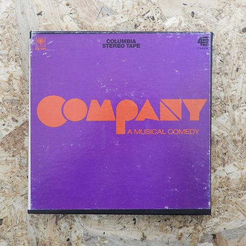 <再生確認済み>「 COMPANY / ORIGINAL CAST RECORDING 」 オープンリール 7号 ミュージック テープ