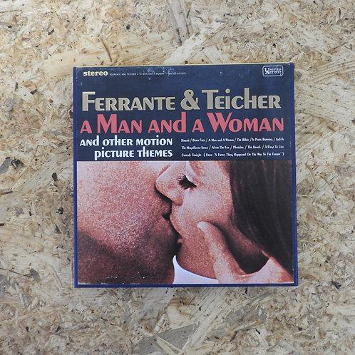 <再生確認済み>「 FERRANTE & TEICHER / A MAN & A WOMAN & OTHER MOTION PICTURE THEMES 」 オ