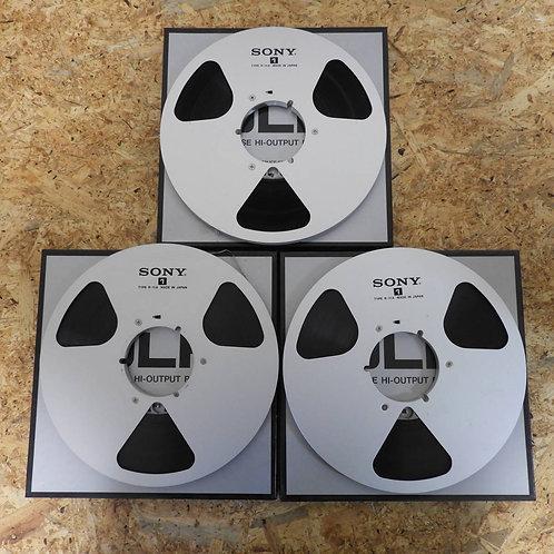 <状態未チェック> オープンリール テープ 10号 メタルリール 3本セット! 134