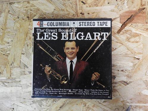 <再生確認済み>「 THE GREAT SOUND OF LES ELGART 」 オープンリール 7号 ミュージック テープ