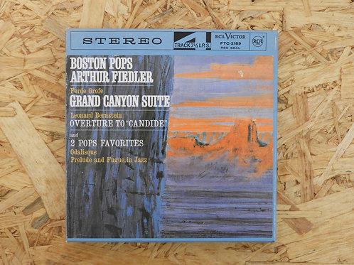 <訳あり品>「 GROFE : GRAND CANYON SUITE 」 オープンリール 7号 ミュージック テープ