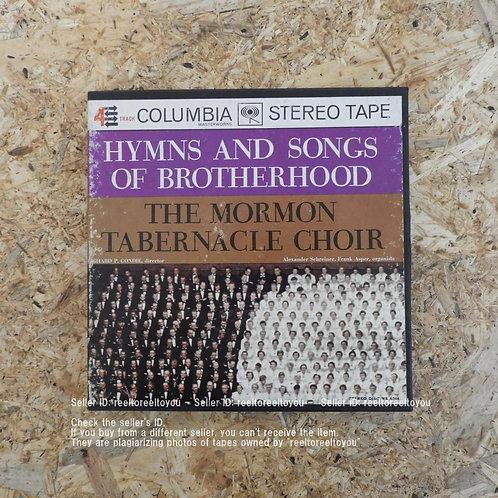 HYMNS AND SONGS OF BROTHERHOOD / THE MORMON TABERNACLE CHOIR