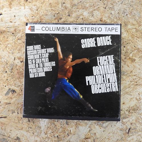 <再生確認済み>「 SABRE DANCE / THE PHILADELPHIA ORCHESTRA : EUGENE ORMANDY 」 オープンリール 7号