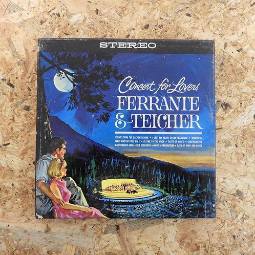 <再生確認済み>「 CONCERT FOR LOVERS / FERRANTE & TEICHER 」 オープンリール 7号 ミュージック テープ