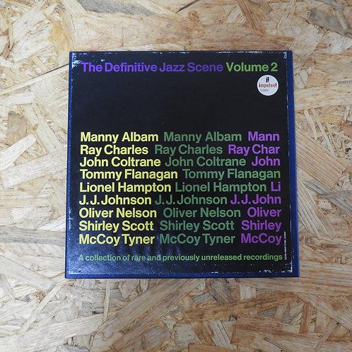 <再生確認済み>「 THE DEFINITIVE JAZZ SCENE VOL.2 / V.A. 」 オープンリール 7号 ミュージック テープ