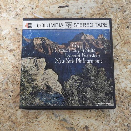 <再生確認済み>「 GROFE : GRAND CANYON SUITE / LEONARD BERNSTEIN 」 オープンリール 7号 ミュージック テープ