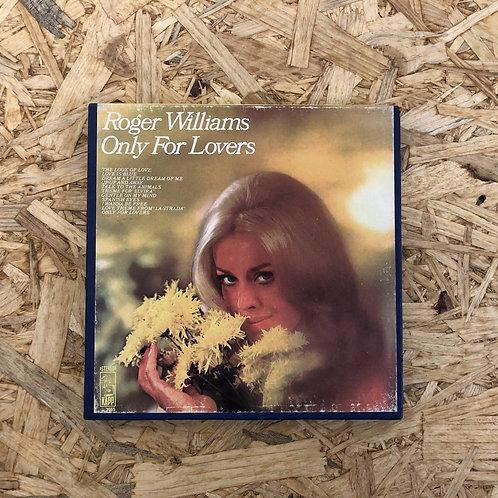 <再生確認済み>「 ONLY FOR LOVERS / ROGER WILLIAMAS 」 オープンリール 7号 ミュージック テープ