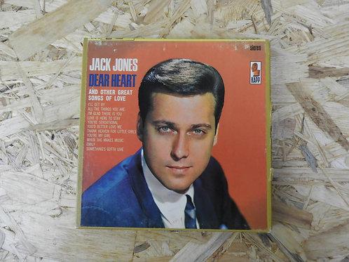 <再生確認済み>「 JACK JONES / DEAR HEART 」 オープンリール 7号 ミュージック テープ