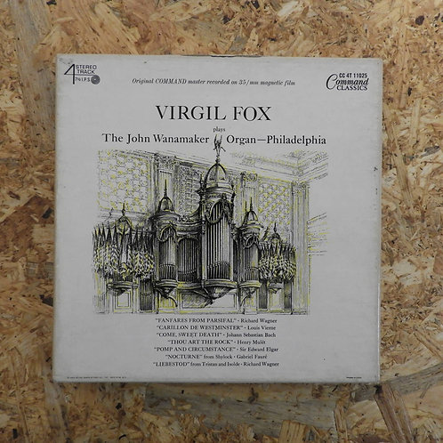 <再生確認済み>「 VIRGIL FOX PLAYS THE JOHN WANAMAKER ORGAN - PHILADELPHIA 」 オープンリール 7号