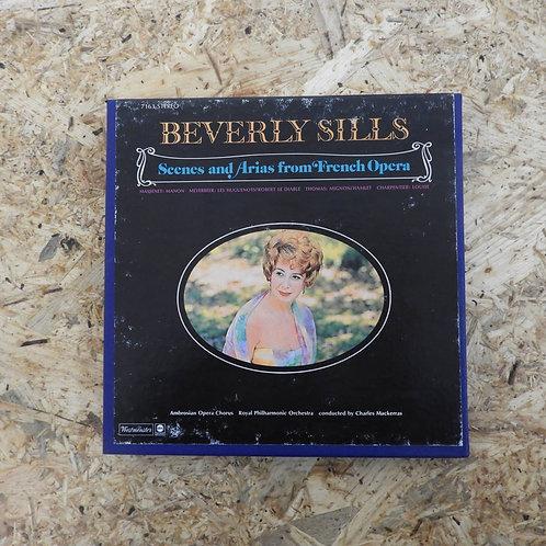 <再生確認済み>「 BEVERLY SILLS SCENES AND ARIAS FROM FRENCH OPERA 」 オープンリール 7号 ミュージック テ