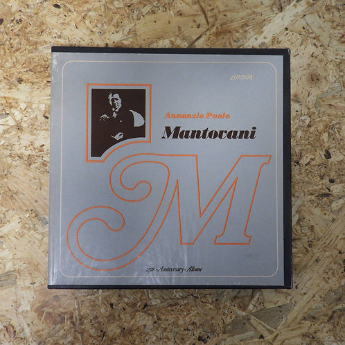 <再生確認済み>「 ANNUNZIO PAOLO MANTOVANI / MANTOVANI AND HIS ORCHESTRA 」 マントヴァーニ オープンリ