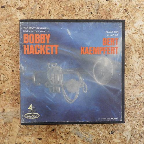<再生確認済み>「 BOBBY HACKETT PLAYS THE MUSIC OF BERT KAEMPFERT 」 オープンリール 7号 ミュージック テー