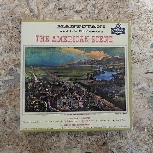 <再生確認済み>「 THE AMERICAN SCENE / MANTOVANI AND HIS ORCHESTRA 」 マントヴァーニ オープンリール 7号