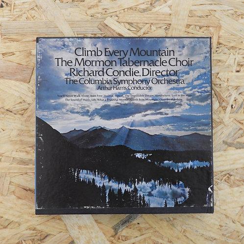<再生確認済み>「 CLIMBEVERY MOUNTAIN / THE MORON TABERNACLE CHOIR 」 オープンリール 7号 ミュージック テ