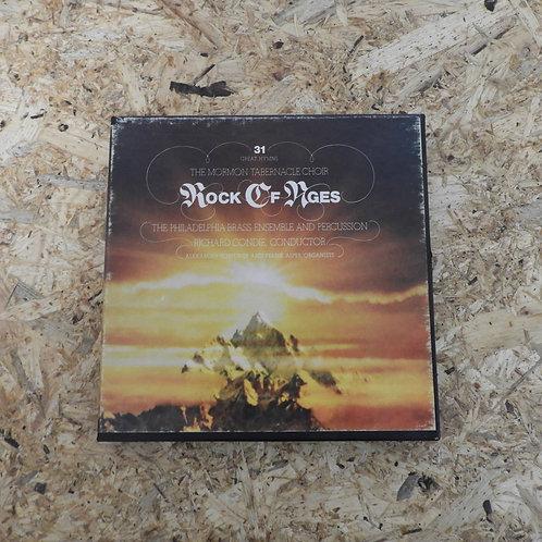 <再生確認済み>「 ROCK OF AGES / THE MORMON TABERNACLE CHOIR 」 オープンリール 7号 ミュージック テープ