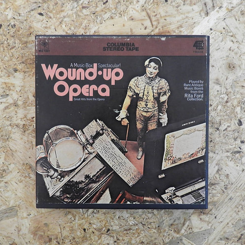 <再生確認済み>「 A MUSIC BOX SPECTACULAR! : WOUND-UP OPERA 」 オープンリール 7号 ミュージック テープ
